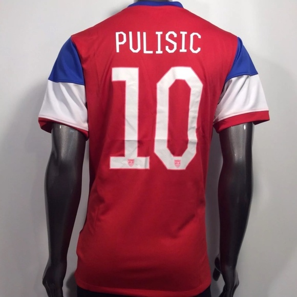 new product 02d7d 8e2fe 2014 USMNT Christian Pulisic #10 XL Soccer Jersey NWT